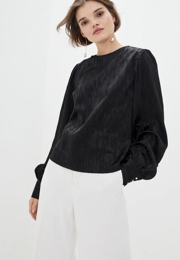 женская блузка muslin, черная