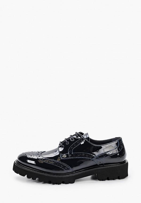 женские низкие ботинки dino bigioni, синие