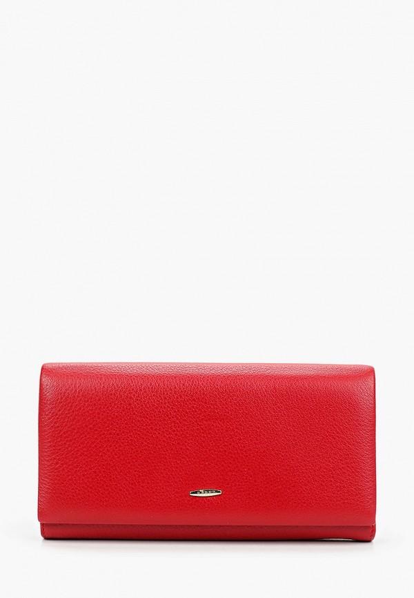 женский кошелёк barez, красный