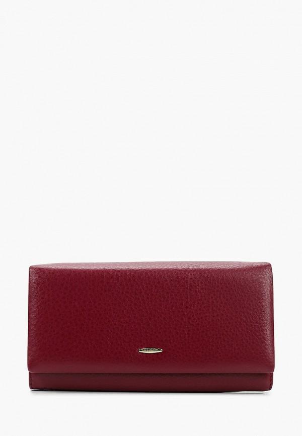 женский кошелёк barez, бордовый