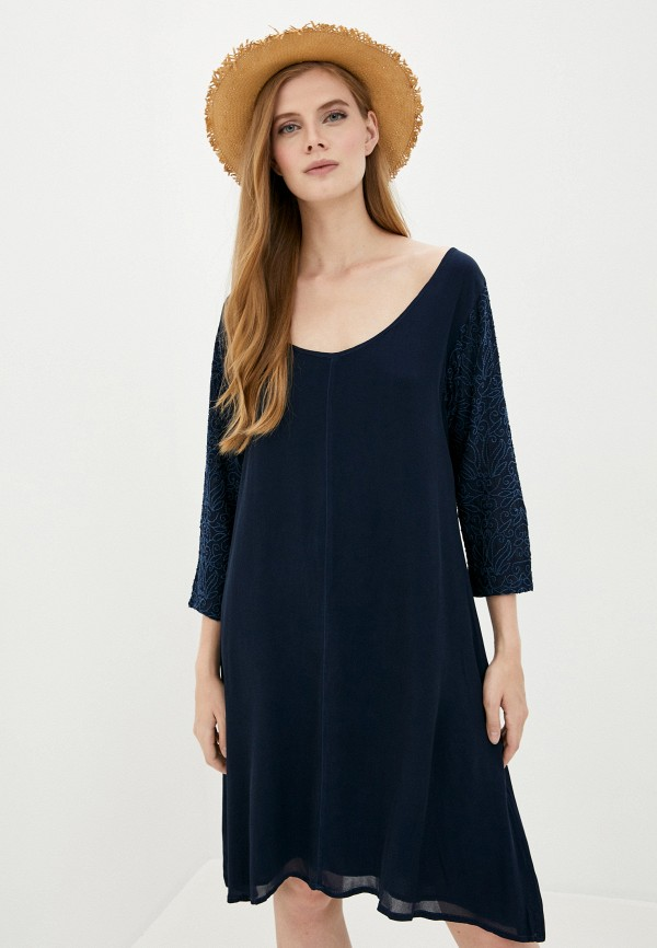 женское повседневные платье lilaccat, синее