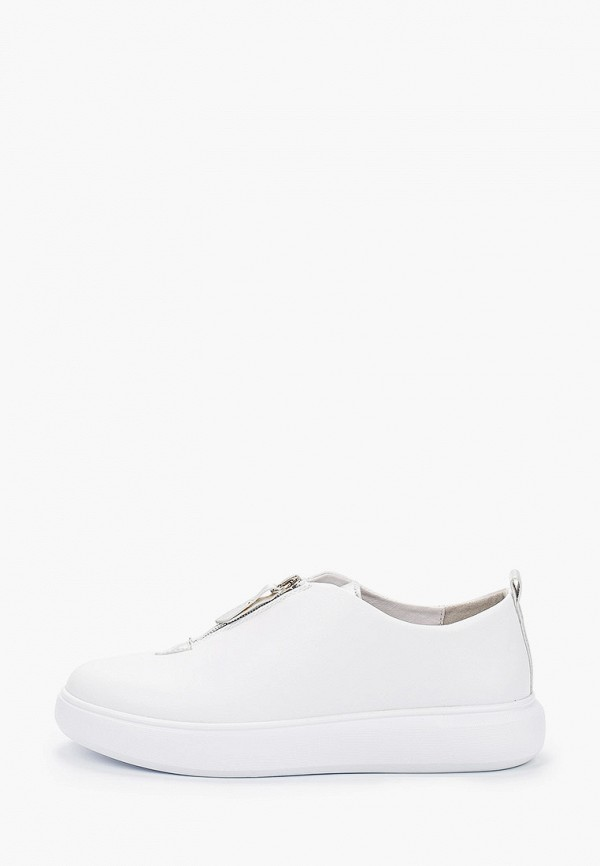 женские низкие ботинки palazzo d'oro, белые