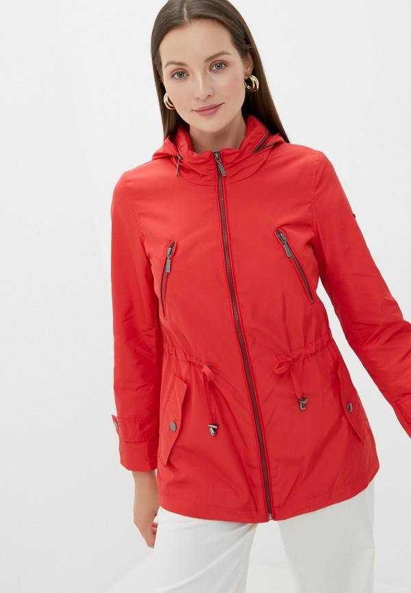 женская легкие куртка el caballo sevilla 1892, красная