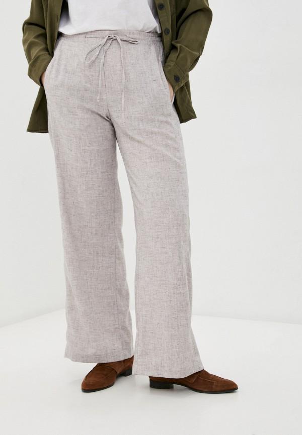 женские брюки клеш horosha, бежевые