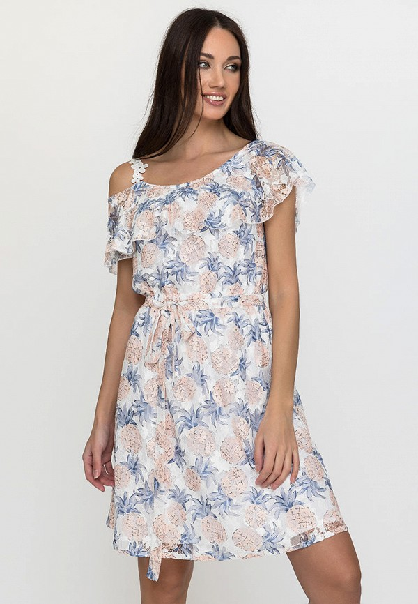 женское платье gloss, белое