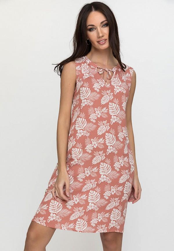 женское повседневные платье gloss, розовое