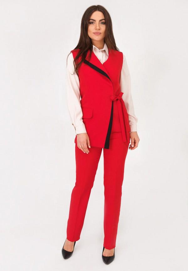 женский костюм vsv, красный