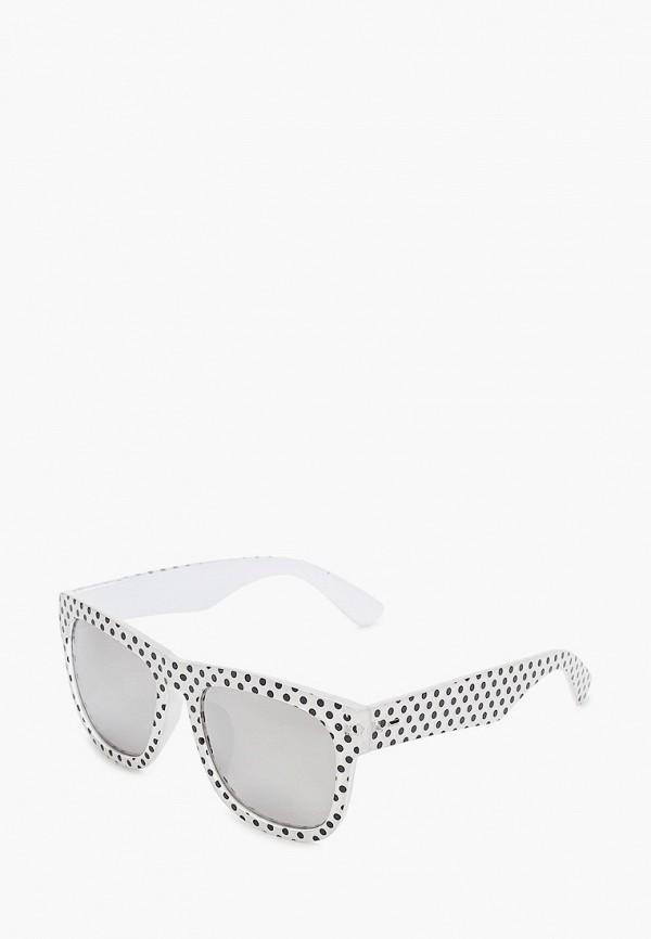 женские квадратные солнцезащитные очки модные истории, белые