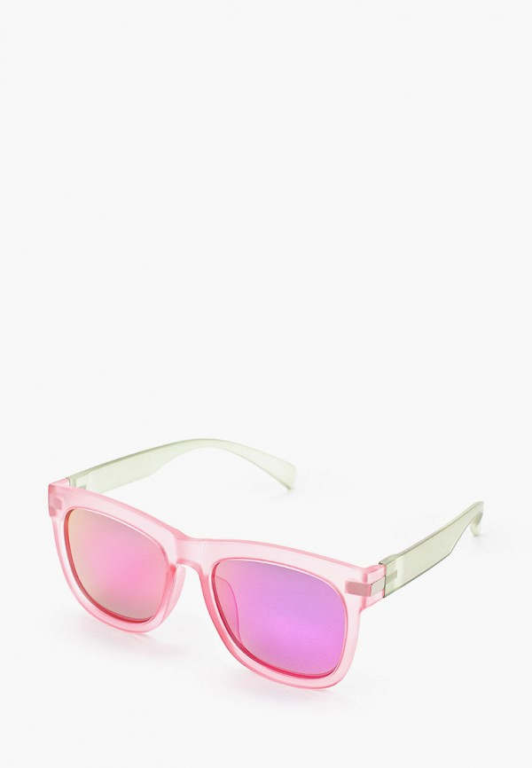 женские квадратные солнцезащитные очки модные истории, розовые