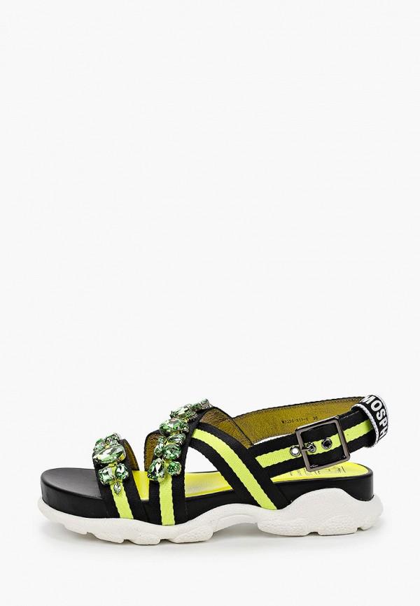 женские сандалии graciana, желтые
