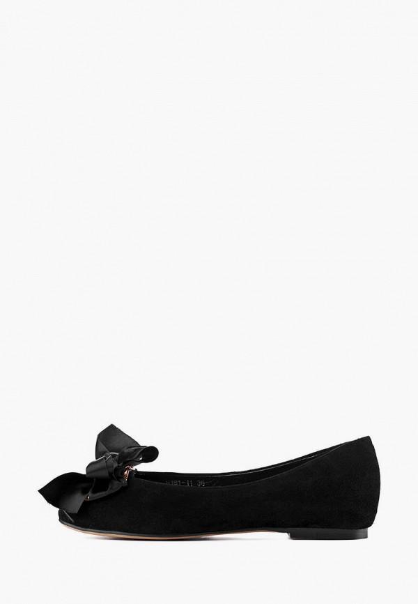 женские балетки stefano lompas, черные