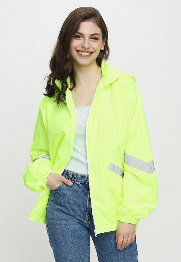 женская легкие куртка one.two, зеленая