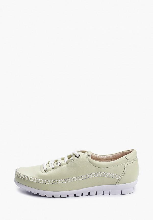 женские низкие ботинки zenden comfort, зеленые