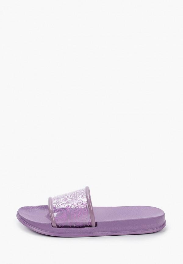 женские сланцы kellis, фиолетовые