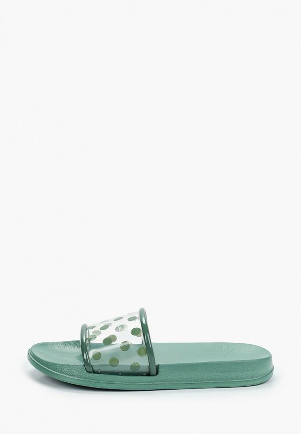 женские сланцы kellis, зеленые