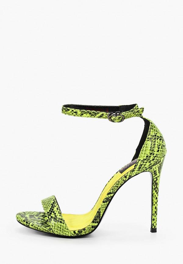 женские босоножки kellis, зеленые