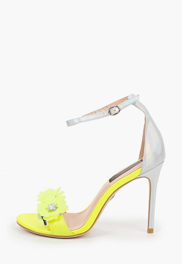 женские босоножки marco bonne', желтые