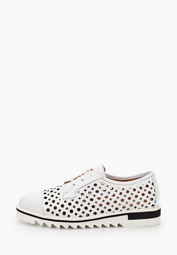 женские низкие ботинки stivalli, белые