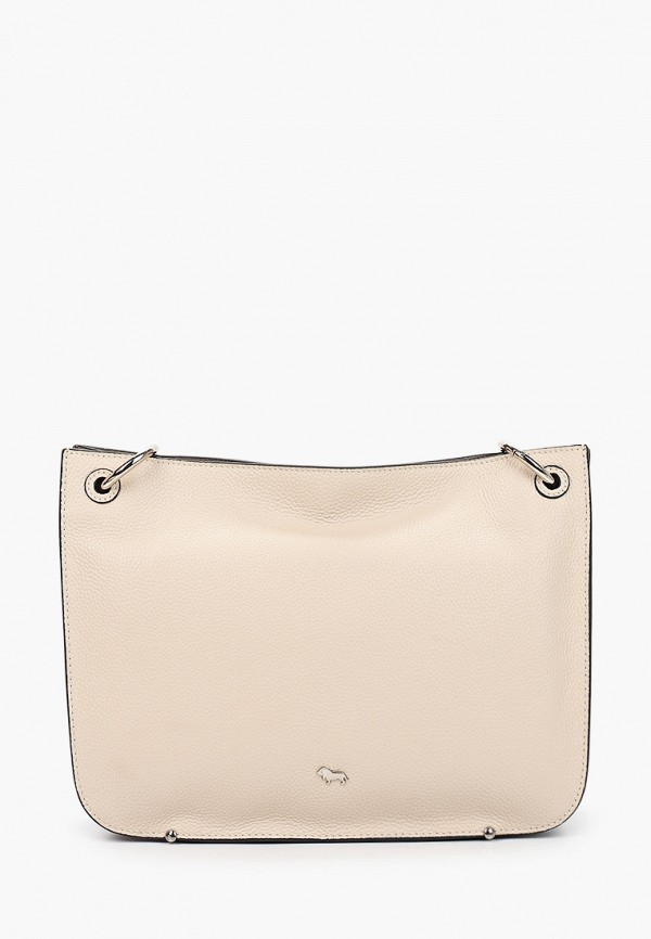 женская сумка через плечо labbra, бежевая