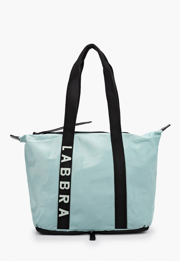 женская сумка-шоперы labbra, бирюзовая