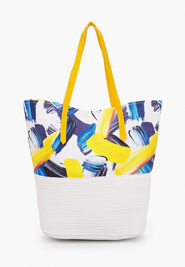 женская пляжные сумка labbra, белая