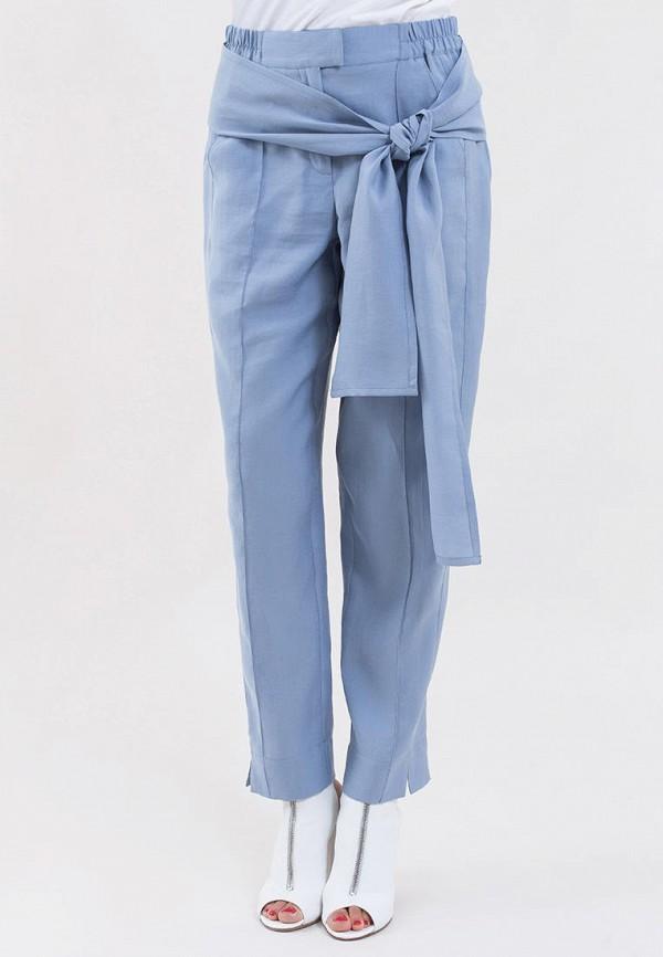 женские повседневные брюки maxa, голубые