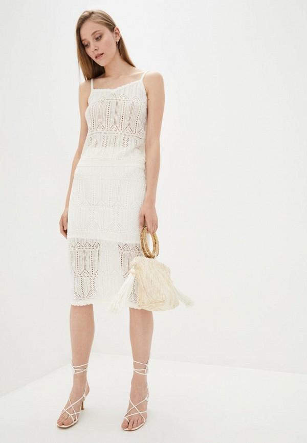 женский костюм 02.02.knitwear, белый