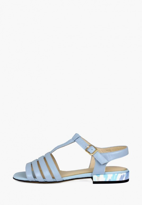 женские сандалии blizzarini, голубые