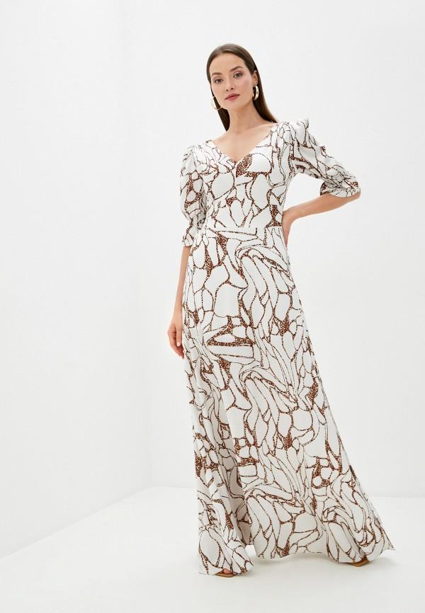 Платье Joymiss бежевого цвета