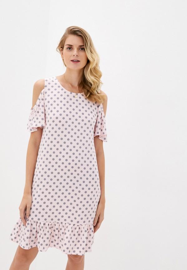 женское платье am one, розовое