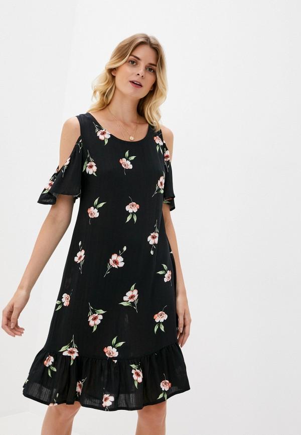 женское платье am one, черное