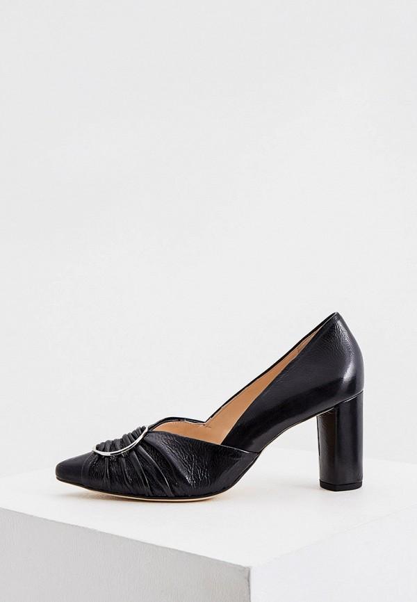 женские туфли с закрытым носом hogl, черные