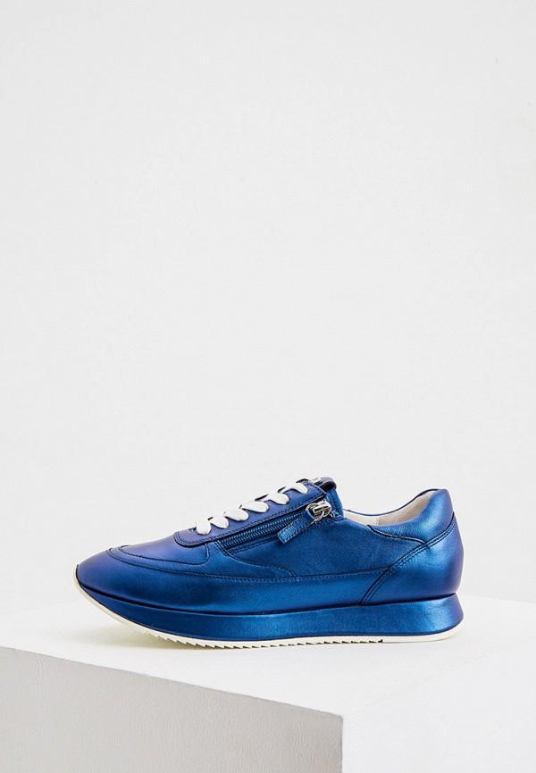 женские низкие кроссовки hogl, синие