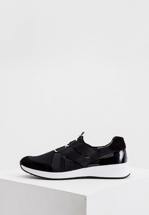женские низкие кроссовки hogl, черные
