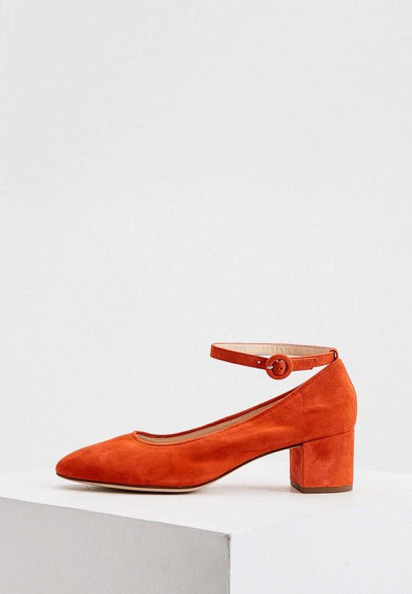 женские туфли hogl, красные
