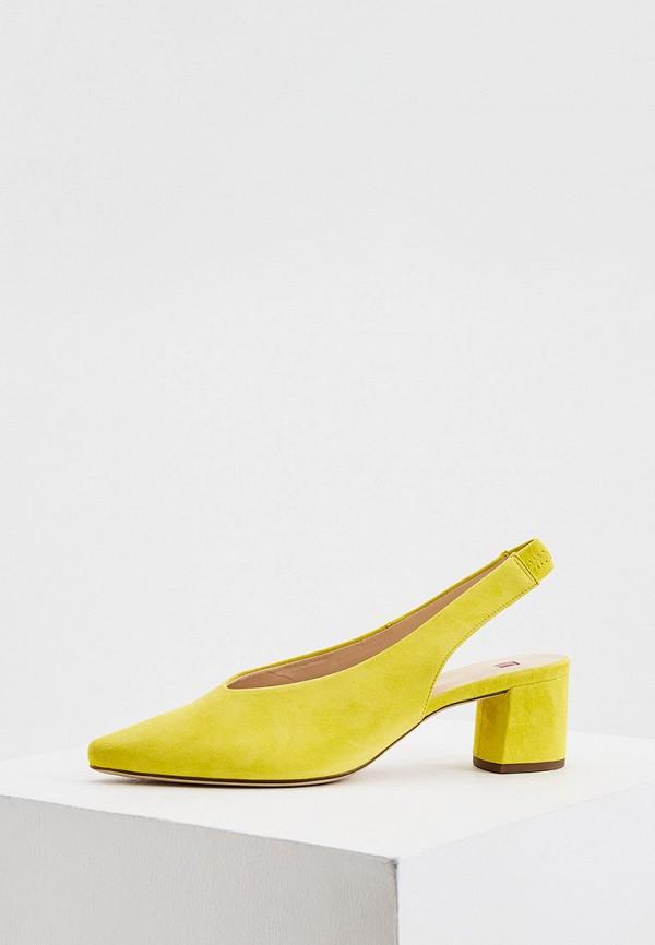 женские туфли hogl, желтые