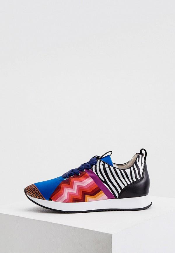 женские низкие кроссовки hogl, разноцветные