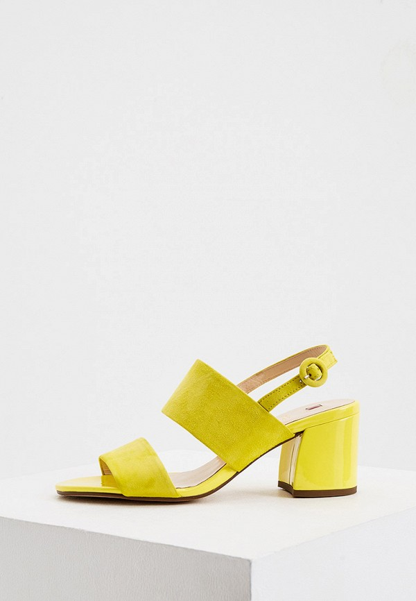 женские босоножки hogl, желтые