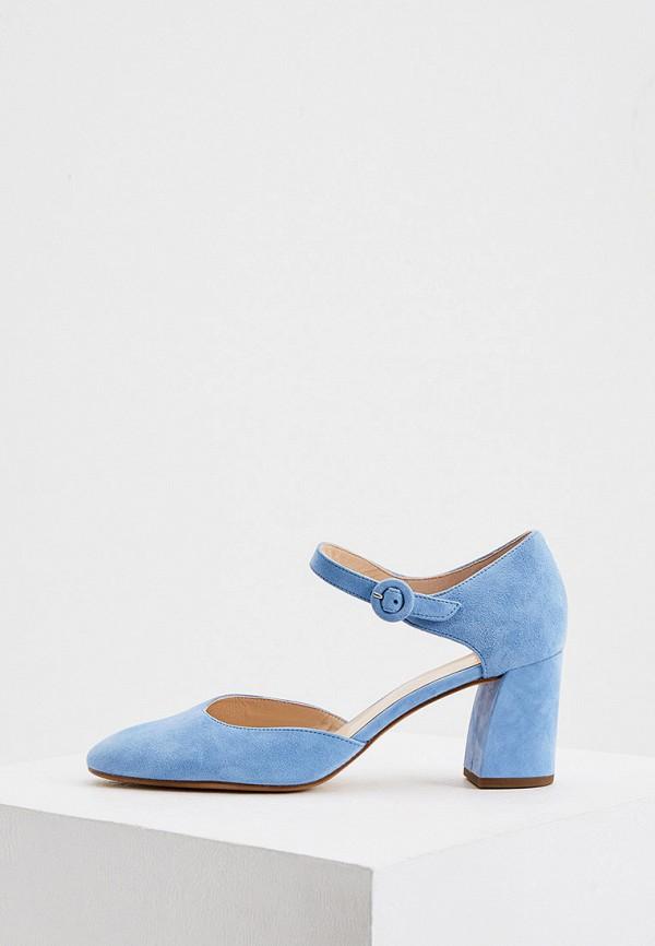 женские туфли hogl, голубые