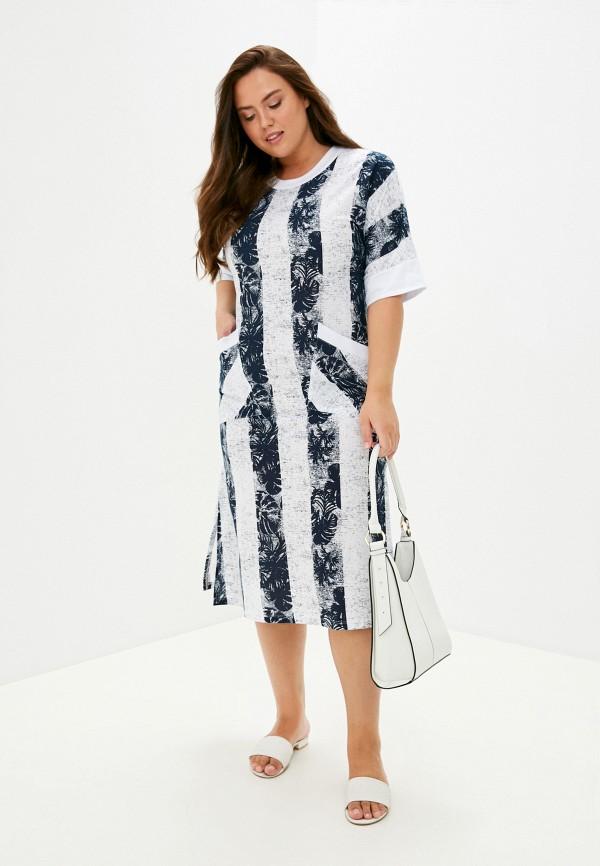 женское платье zarka, синее
