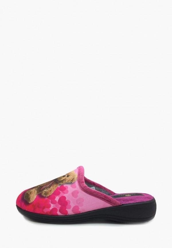 женские тапочки spesita, розовые