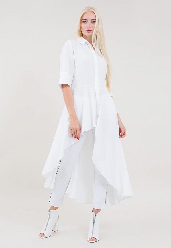 женская туника maxa, белая