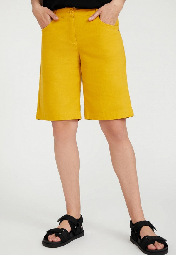 Шорты Finn Flare желтого цвета