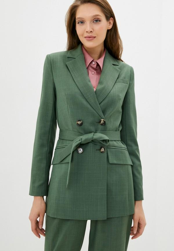 женский пиджак aylin stories, зеленый