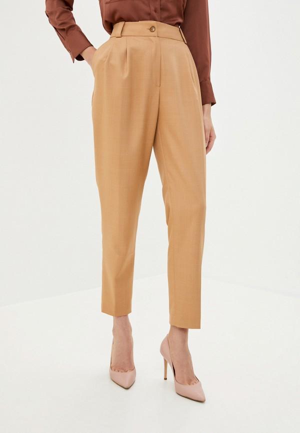 женские классические брюки aylin stories, бежевые