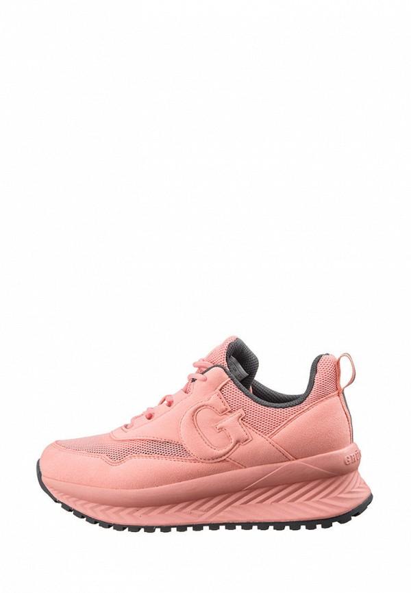 женские кроссовки grunberg, розовые