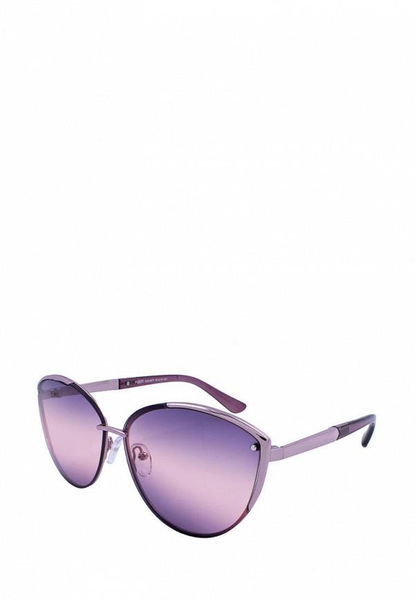 женские солнцезащитные очки кошачьи глаза furlux, фиолетовые