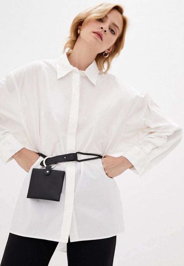 женская рубашка с длинным рукавом silvian heach, белая