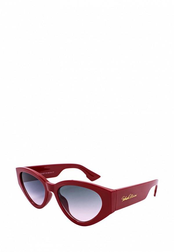 женские солнцезащитные очки кошачьи глаза gabriela marioni, красные