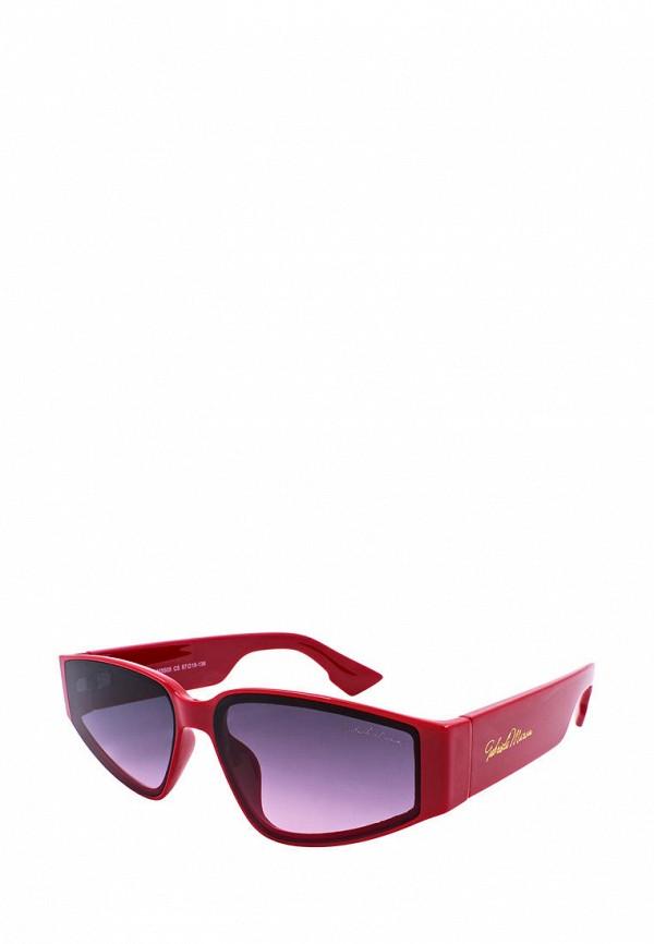 женские солнцезащитные очки gabriela marioni, красные